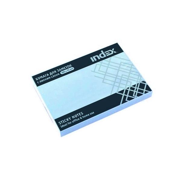 Самоклеящийся блок Index 75*105 мм