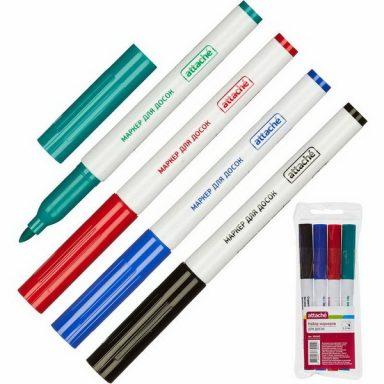 Набор маркеров для досок Attache
