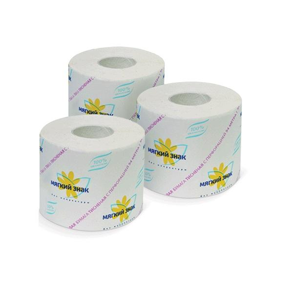 """Туалетная бумага """"Ь"""" Мягкий знак"""