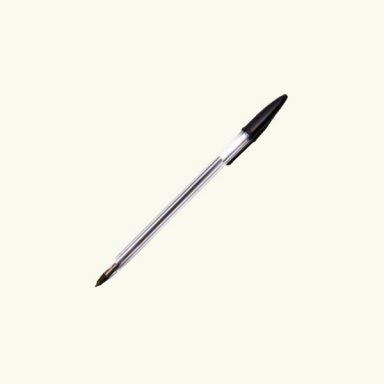ручка черного цвета