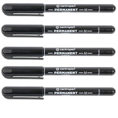 маркер Centropen permanent 2846 черный