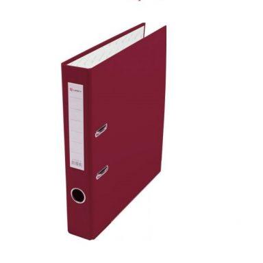 Купить папку-регистратор формата А4 Lamark бордовую 50 мм
