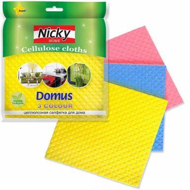 """Салфетка для уборки Nicky Home """"Домус"""