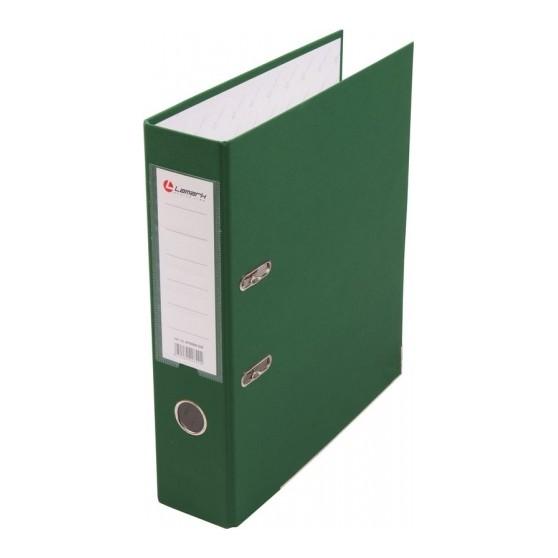Папка-регистратор формата А4 Lamark зеленая