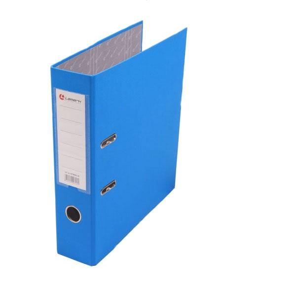 папка-регистратор формата А4 Lamark голубая 50 мм
