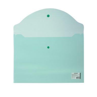 папка-конверт STAFF зеленую