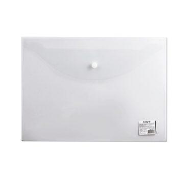 папка-конверт STAFF прозрачная