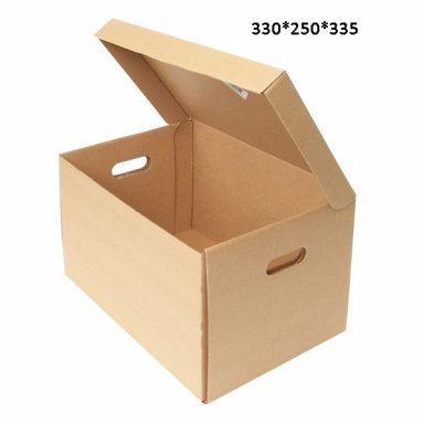 Архивный короб с крышкой