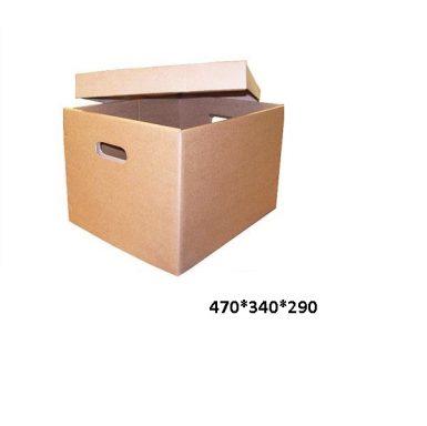Короб архивный с отдельной крышкой 470*340*290 мм,