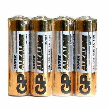 дешевые пальчиковые батарейки GP 15A Ultra