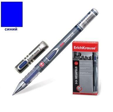 Гелевая ручка синяя erich kraus
