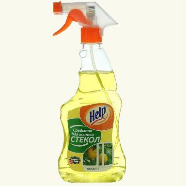 Купить средство для мытья стекол Help