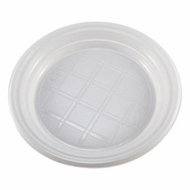 Одноразовая тарелка пластиковая