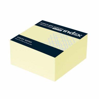 Самоклеящийся бумажный блок 51*51 INDEX