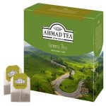 Чай Ahmad Green Tea    (100 пакетиков)