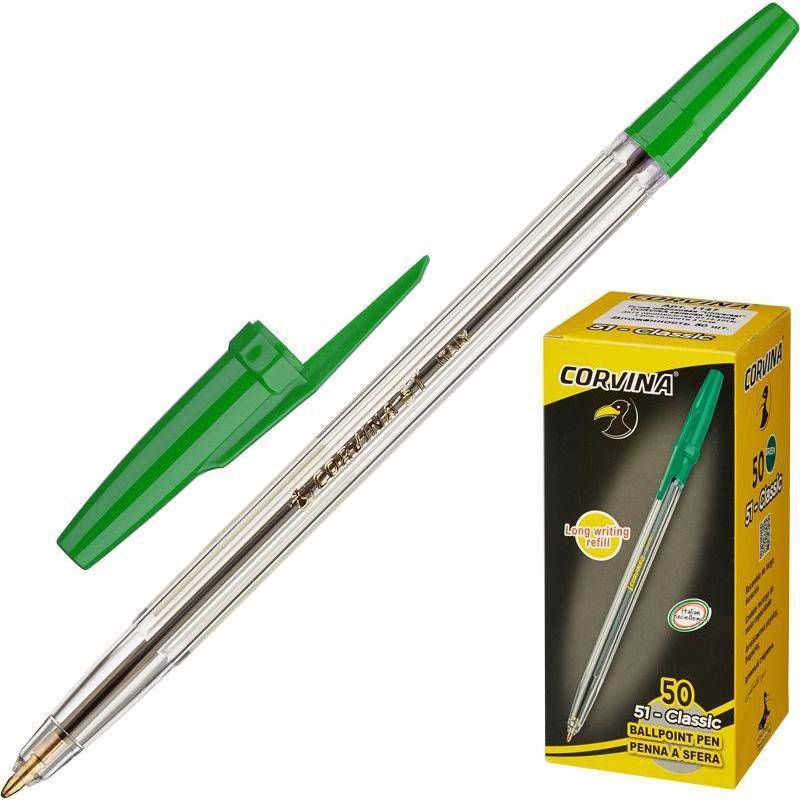 ручка CORVINA 51 Classic зеленая