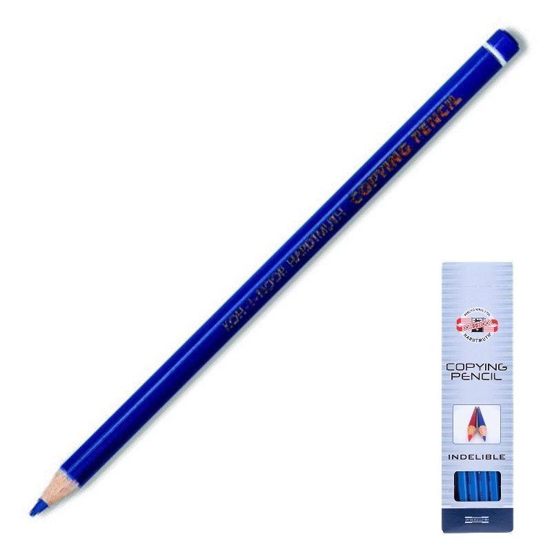 Карандаш химический синий для белья KOH-I-NOOR