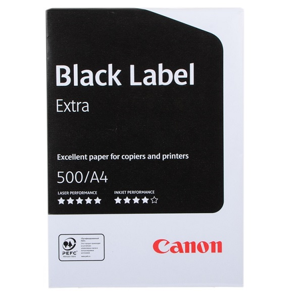 бумага B+ для принтеров А4 Canon Black Label Extra