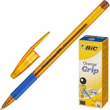 BIC Orange grip fine синяя