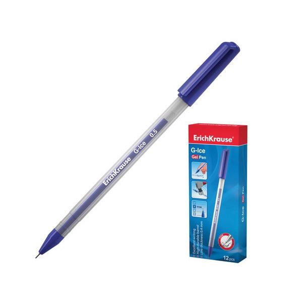 Ручка синяя гелевая ERICH KRAUSE G-ISE