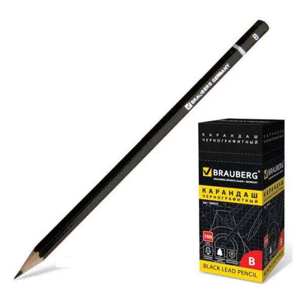 Простой карандаш BRAUBERG Fine Line