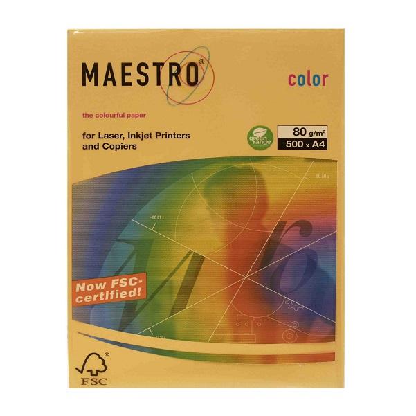 бумага цветная а4 цвет золтой