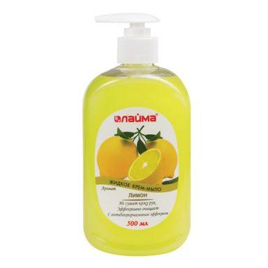 жидкое мыло лимон